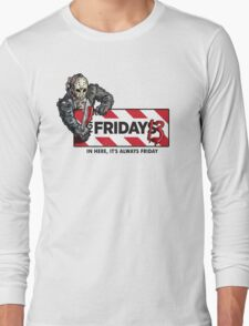 Jason Voorhees - It's Always Friday the 13th Long Sleeve T-Shirt