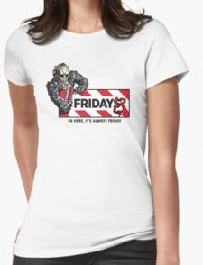 Jason Voorhees - It's Always Friday the 13th Womens Fitted T-Shirt