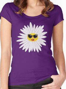 Marilyn Daisy Women's Fitted Scoop T-Shirt
