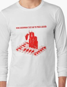 King Geedorah - Take Me To Your Leader Long Sleeve T-Shirt