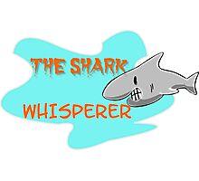 The shark whisperer Photographic Print