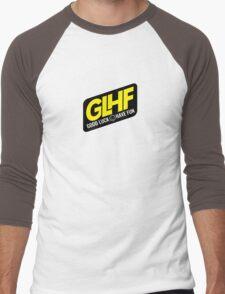 GLHF Navi Men's Baseball ¾ T-Shirt