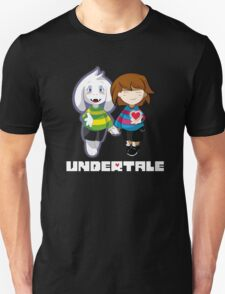 Undertale Asriel and Frisk Together  T-Shirt