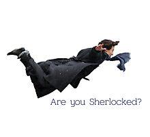 Sherlock- are you Sherlocked? Photographic Print