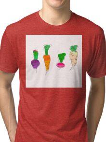 Vegetable roots Tri-blend T-Shirt