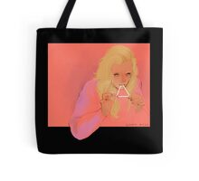 triangle eater Tote Bag