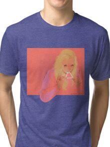 triangle eater Tri-blend T-Shirt