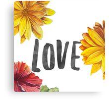 Love D Canvas Print
