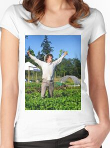 Victory Gardens Women's Fitted Scoop T-Shirt