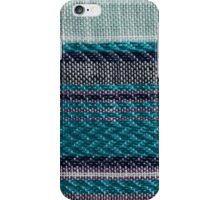 Multi color fabric texture samples iPhone Case/Skin