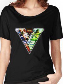 Street Fighter V - girls Women's Relaxed Fit T-Shirt
