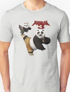 Kung fu Panda 3 Po and Bao In Action T-Shirt