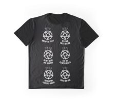 ♥♥♥ TEEN GOTH SERIES - IF U CANT FUCKING DECIDE ♥♥♥ Graphic T-Shirt