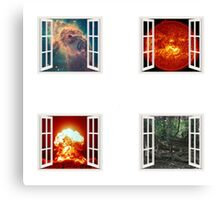 Windows on the Cycles of the Universe Canvas Print