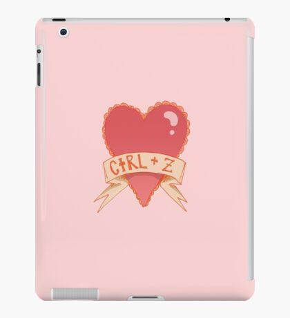 photoshop valentines iPad Case/Skin