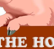 The hog whisperer Sticker