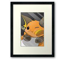 Pokemon Raichu Framed Print