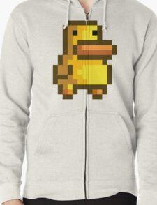 Duck Zipped Hoodie