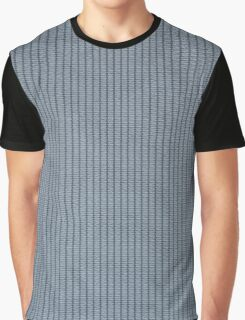 Blue fabric texture Graphic T-Shirt