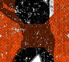 8 - The Iron Man (vintage) Sticker