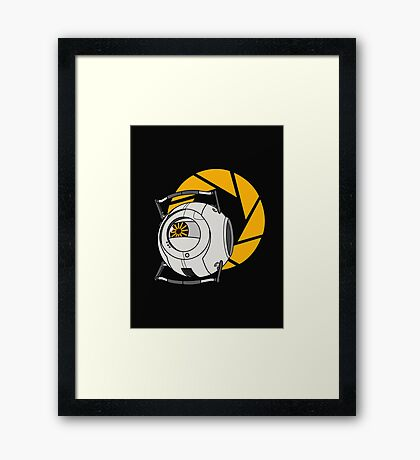 Space Core V2 (Portal 2) Framed Print