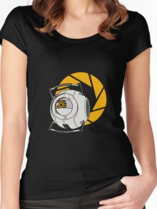 Space Core V2 (Portal 2) Women's Fitted Scoop T-Shirt