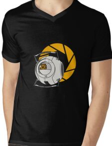 Space Core V2 (Portal 2) Mens V-Neck T-Shirt