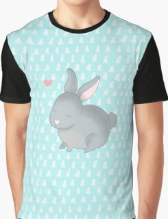 bunny in love Graphic T-Shirt
