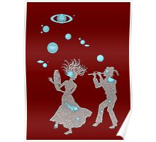 Cosmic Dance with Music of the Spheres Poster