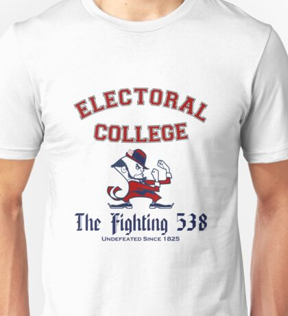 The Electoral College-Fighting 538 Unisex T-Shirt