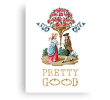 Pretty Good Red Roses Canvas Print