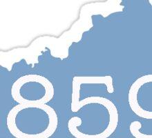 Lexington KY Area Code Sticker