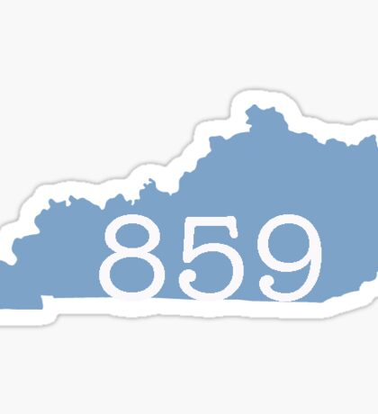 Lexington KY Area Code Sticker