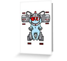 The Dog Rick & Morty Greeting Card