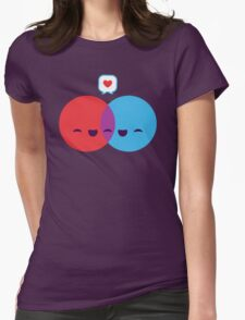 Love Diagram Womens Fitted T-Shirt