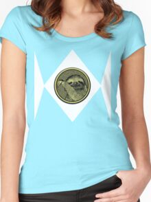 SLOTH! Women's Fitted Scoop T-Shirt