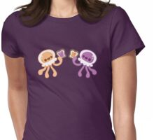 Peanut Butter Jellyfish Love Womens Fitted T-Shirt