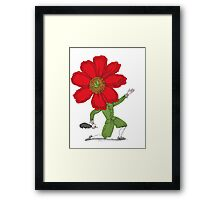 The Poet in Love Framed Print