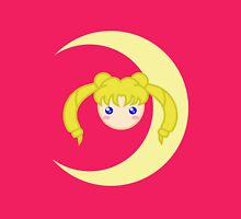 Sailor Moon Usagi Tsukino Chibi Head Womens Fitted T-Shirt