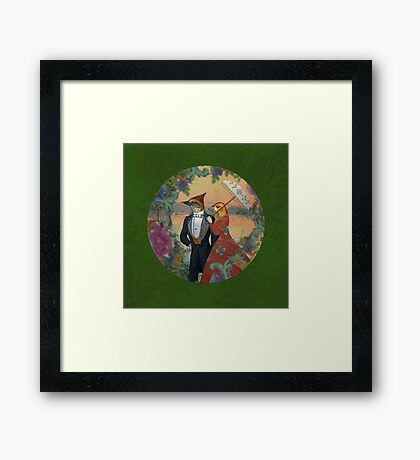 An Evening Stroll Framed Print