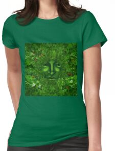 GREEN MAN GENESIS Womens Fitted T-Shirt