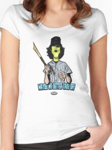 Baseball Fury Women's Fitted Scoop T-Shirt