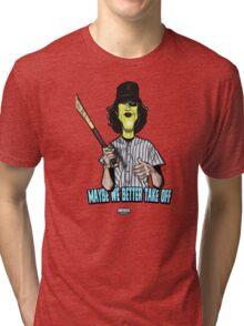 Baseball Fury Tri-blend T-Shirt