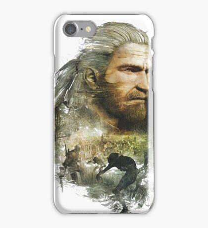 Geralt of Rivia - The Witcher 3 iPhone Case/Skin