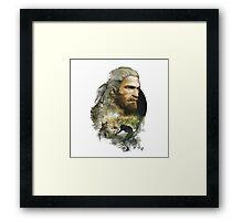 Geralt of Rivia - The Witcher 3 Framed Print