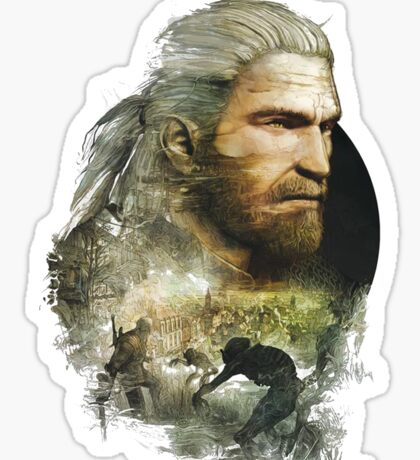 Geralt of Rivia - The Witcher 3 Sticker