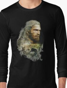 Geralt of Rivia - The Witcher 3 Long Sleeve T-Shirt