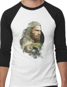 Geralt of Rivia - The Witcher 3 Men's Baseball ¾ T-Shirt