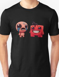 The Binding Of Isaac and Meat Boy T-Shirt