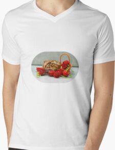 Happy Valentoad's Day Mens V-Neck T-Shirt